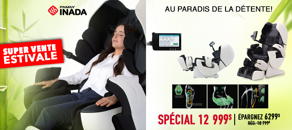 Fauteuil de massage Therapina Robo de Inada