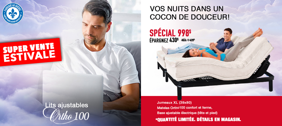 Lit ajustable Ortho 100