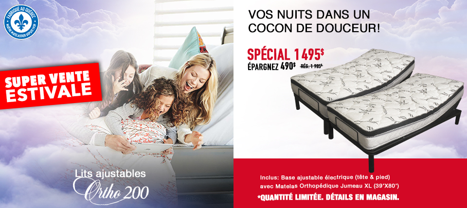 Lit ajustable Ortho 200