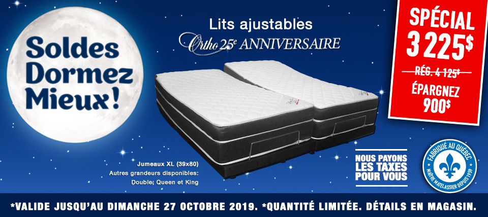 Lit ajustable Ortho 25e