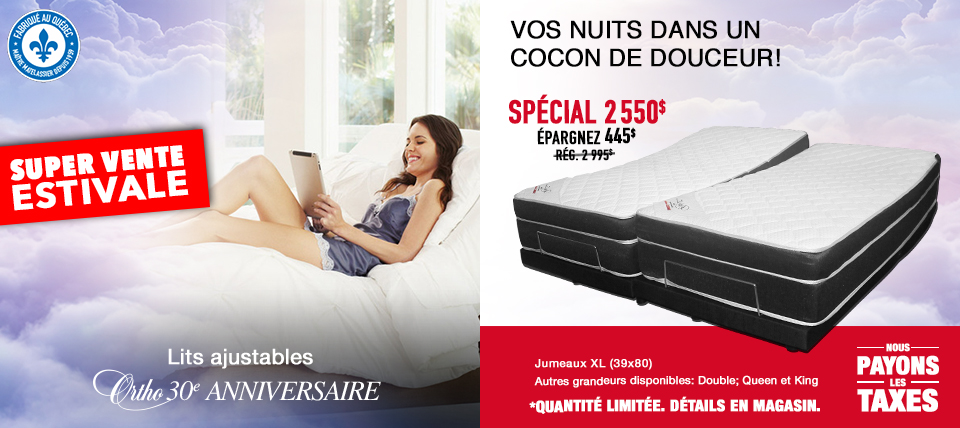 Lit ajustable Ortho 30e