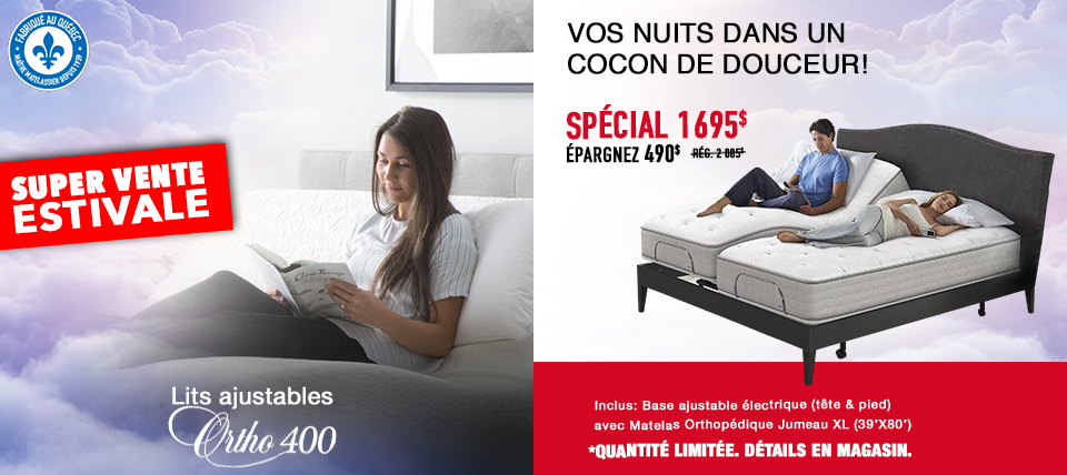 Lit ajustable Ortho 400