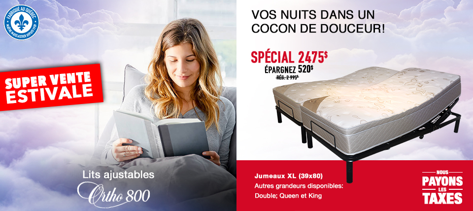 Lit ajustable Ortho 800