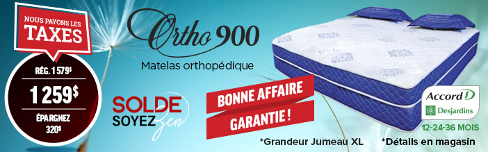Lit ajustable Ortho 900
